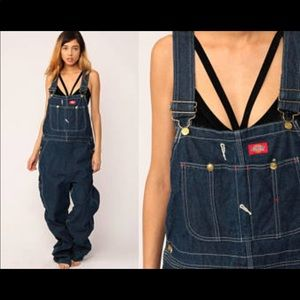 New Dickies overall women's plus size